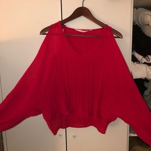 Open sleeves blouse